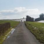Der weg Zum alten Turm (Winter)